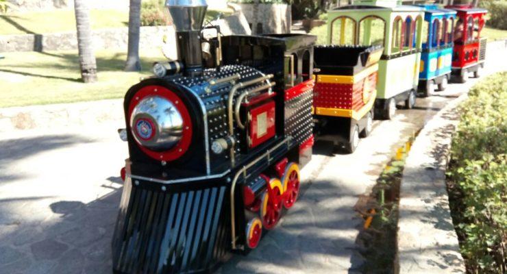 Venta de Trenes eléctricos Infantiles Mini Magic Train - Tren Expresso Mágico, Trenes Eléctricos infantiles para paseo de niños en  centros, plazas Comerciales y parques infantiles,